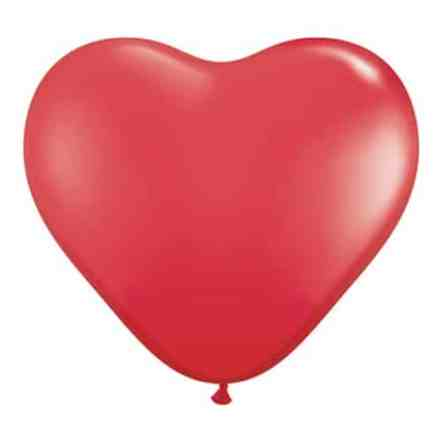 Valentines Day Balloons Red Heart Latex Party Balloon from Balloon Shop NYC