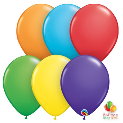 Express Order Rainbow Collection Latex Party Balloons 12 inch Inflated high-quality cheap balloons nyc delivery