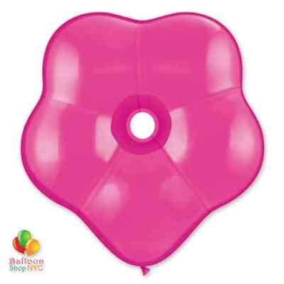 GEO BLOSSOM WILD BERRY Latex 16 delivery from Balloon Shop NYC