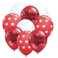 Hugs Kisses Balloon Bouquet delivery from Balloon Shop NYC