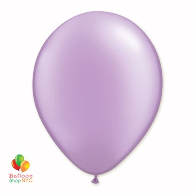 Lavender Pearl Latex Party Balloon 12 inch Inflated Delivery Balloon Shop NYC