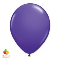 Purple Violet Latex Party Balloon 12 Inch Inflated delivery Balloon Shop NYC