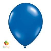 Sapphire Blue Latex Party Balloon 12 inch Inflated delivery from Balloon Shop NYC