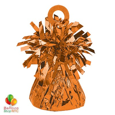 Foil Balloons Weight Small Orange Bright Colors for High-quality cheap balloons nyc delivery