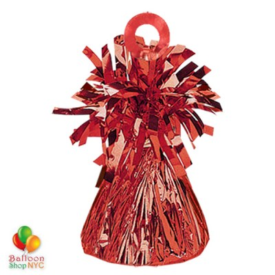 Foil Balloons Weight Small Red Bright Colors for High-quality cheap balloons nyc delivery