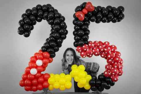 custom balloon number-25