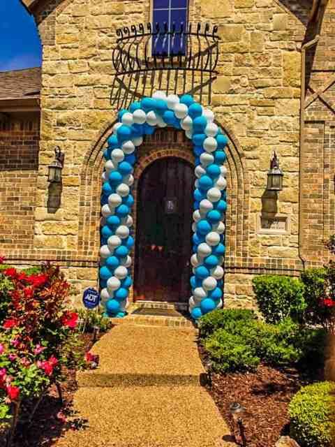 Door Balloon Arch