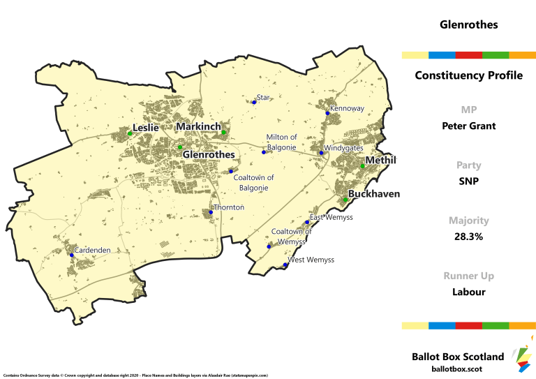 Glenrothes Constituency Map