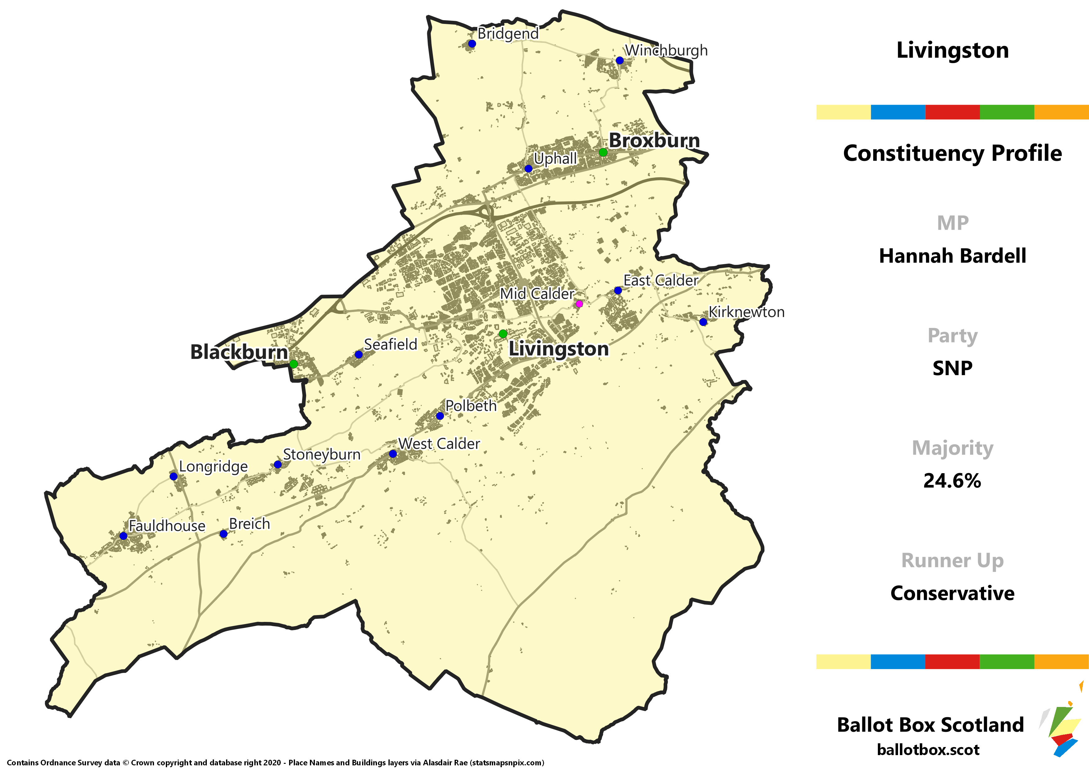 Livingston Constituency Map