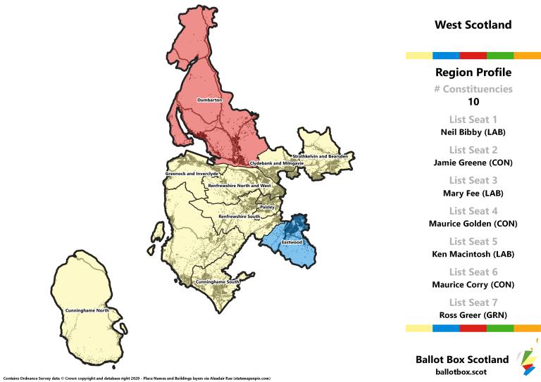 West Region - Whole Region Map