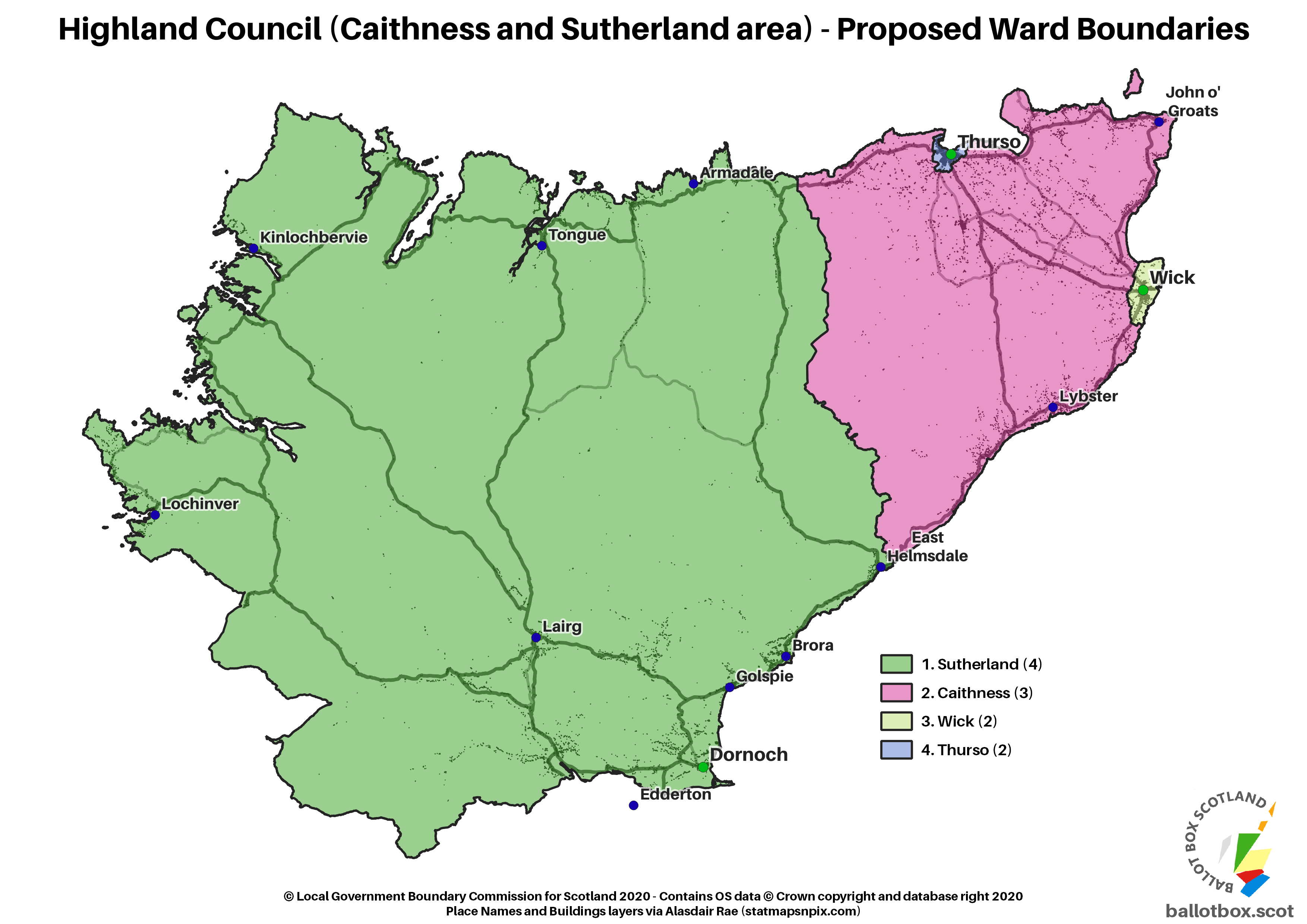 Caithness and Sutherland Proposed