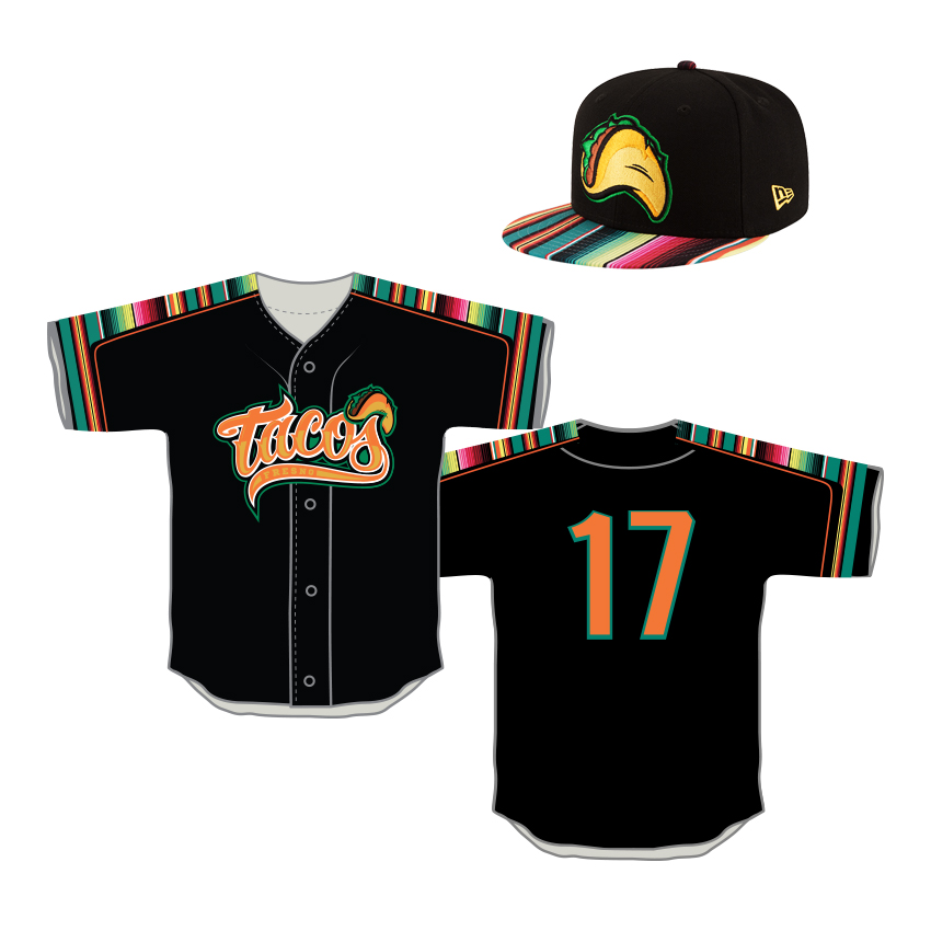 b404fd77c26 ... The club has unveiled its 2017 Fresno Taco uniform. The uniform will be  worn on Fresno Grizzlies ...