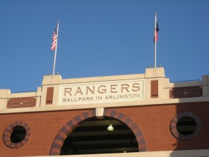 Rangers Ballpark at Arlington Photo R. Anderson
