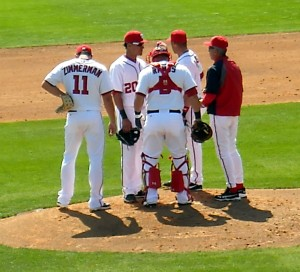 Currently trailing the Atlanta Braves the Washington Nationals are hoping to take manager Davey Johnson to the World Series in his last season at the helm. Photo R. Anderson