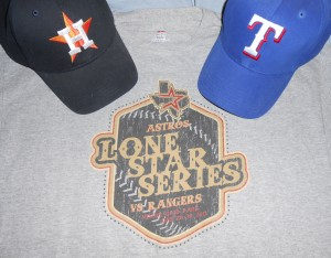 The Houston Astros visit the Texas Rangers tonight for the 20th anniversary of the first game at the Ballpark in Arlington. Photo R. Anderson
