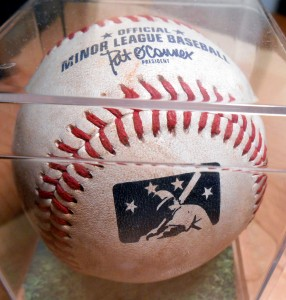 On the surface there is nothing really special about a baseball's individual parts. Once those parts are assembled though a baseball can have a life of its own and can be highly sought after. Photo R. Anderson