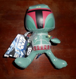 While teams will dress up as Wookies, robots and Darth Vader himself as part of Star Wars Day this year the Star Wars jersey I want to see is Bobba Fett. Photo R. Anderson