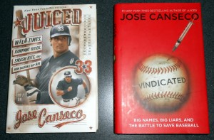 "If steroids were as widespread as Jose Canseco and others would have us believe, than the playing field was level in a certain way in that the numbers put up by players during that era were against other ""enhanced"" players so they should not be banned from the Hall of Fame, especially if no proof exisits that they ever took banned substances. Photo R. Anderson"