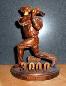 As a member of the exclusive 3,000 hits club, Biggio finished his career with 3,060 hits to become one of only 28 players to have at least 3,000-hits. Photo R. Anderson
