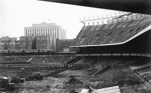 Old New York Yankees Field