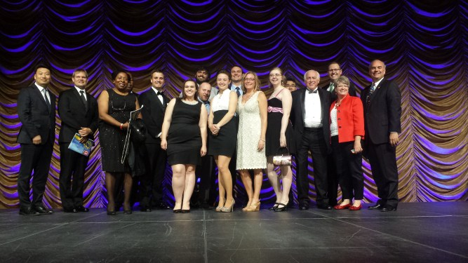 2015 Ball State Emmy posse