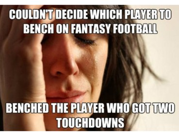 fantasy football tears