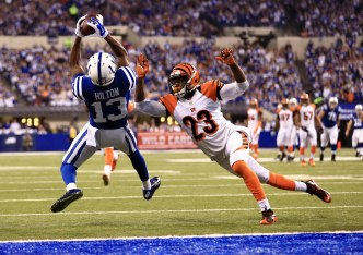 NFL: AFC Wild Card Playoff-Cincinnati Bengals at Indianapolis Colts
