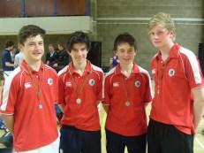 Junior Boys Badminton