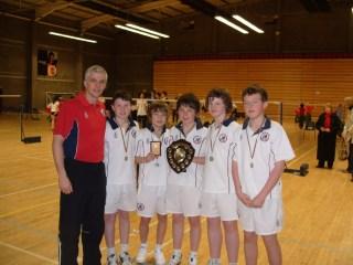 Minor Boys Division2 Winners