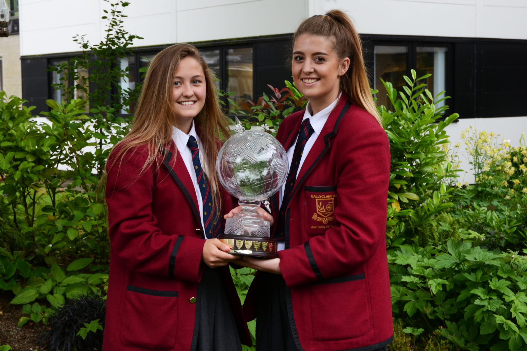 The Lowe Globe for International Representation goes to Sophie McDowell and Rebecca McConnell for Irish U18 Hockey