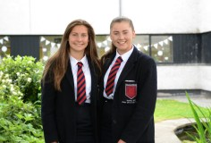 Ballyclare High Schools' Megan Cochrance and Niamh Hogan selected for the Ulster U16 Hockey Squad.