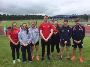 All Ireland Athletics Finalists
