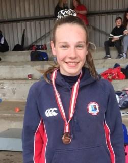 Rachel Steele Ulster Triple Jump Bronze Medallist 1