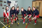 Mandatory Credit - Picture by Freddie Parkinson © Tuesday 7 January 2020 Ballyclare High School Open Night Hockey girls.