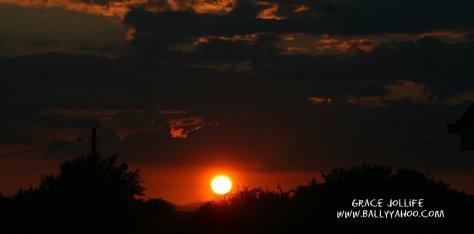 red-night-sky