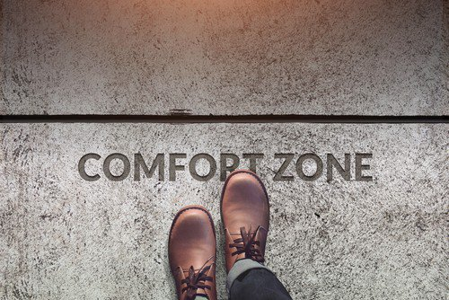personal growth limiting factor of comfort zone