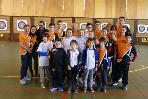 Balma Arc Club - Rencontre jeunes Cugnaux - Groupe