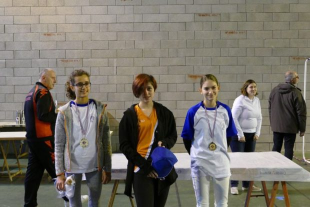 Balma Arc Club - Rencontre jeunes Cugnaux - Podium N2