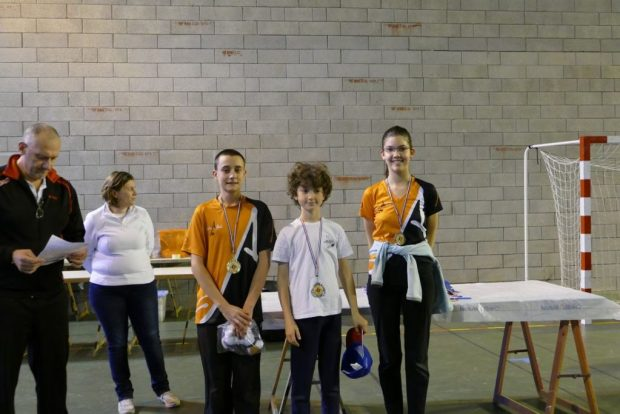 Balma Arc Club - Rencontre jeunes Cugnaux - Podium N1
