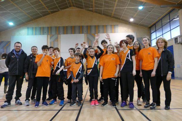 Balma Arc Club - Léguevin - Groupe d'archers
