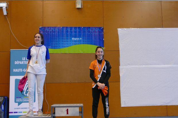 Balma Arc Club - Compétition Blagnac - Podium