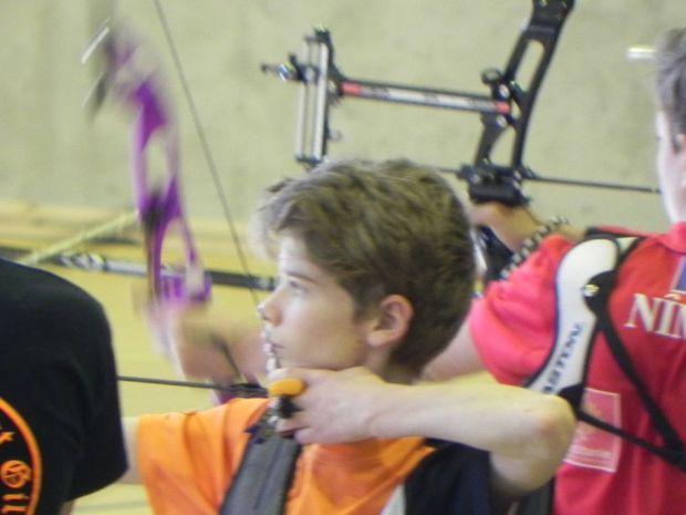 Balma Arc Club - Championnat de ligue jeunes Carcassonne - Qualification Ewen ESPEU