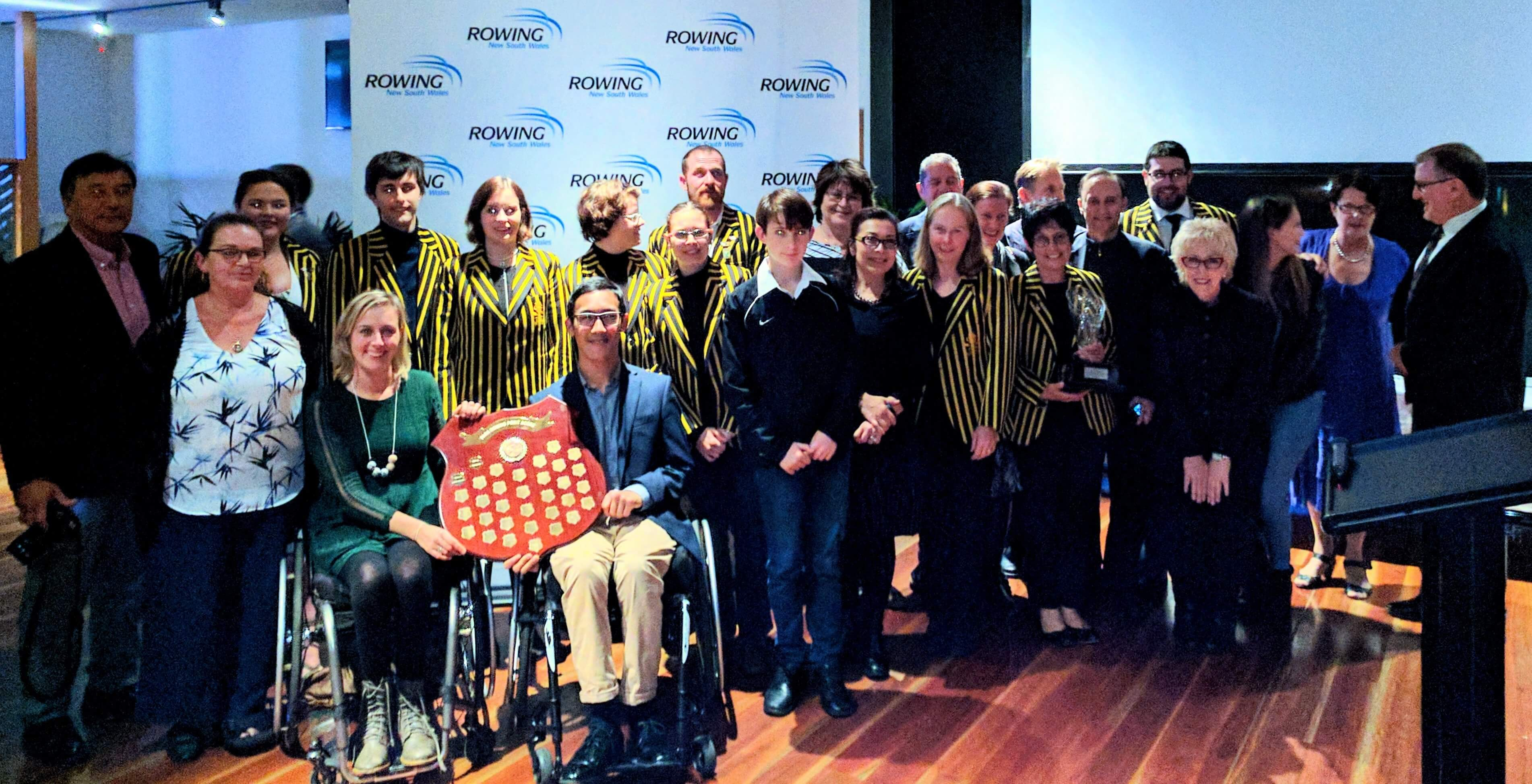 The 2017 Para Squad, coaches and supporters