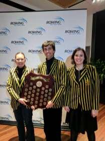 Nikolai, Tahli and Stephanie with the Para Shield