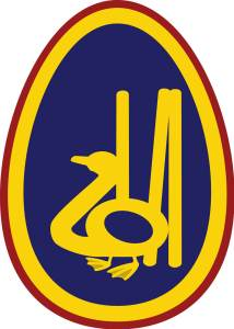 The Primary Club Logo - depicting a cricket 'golden duck'