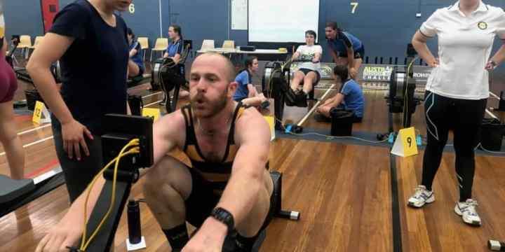 Balmain Para-Rowing Athletes at the AIRC