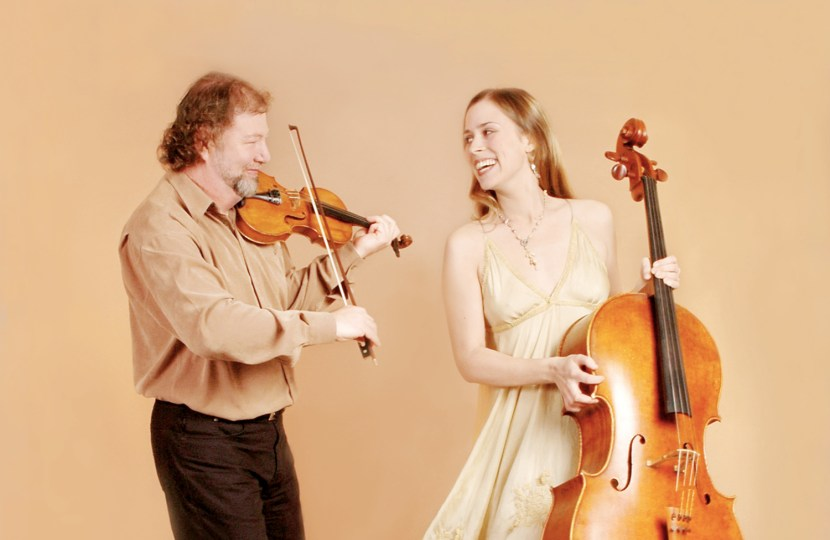 In concert, Alasdair Fraser and Natalie Haas at the Balmoral Classic
