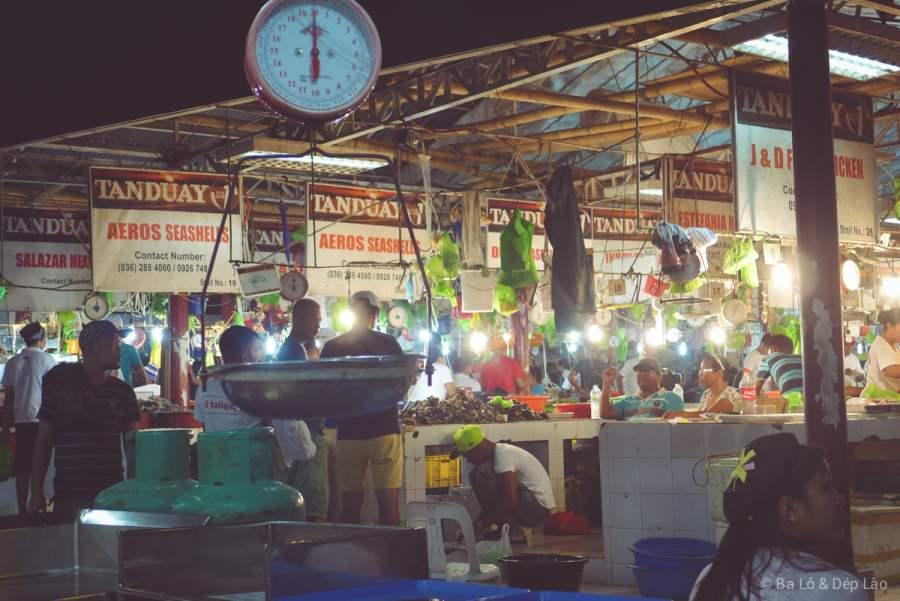 Chợ hải sản tươi sống D'Talipapa