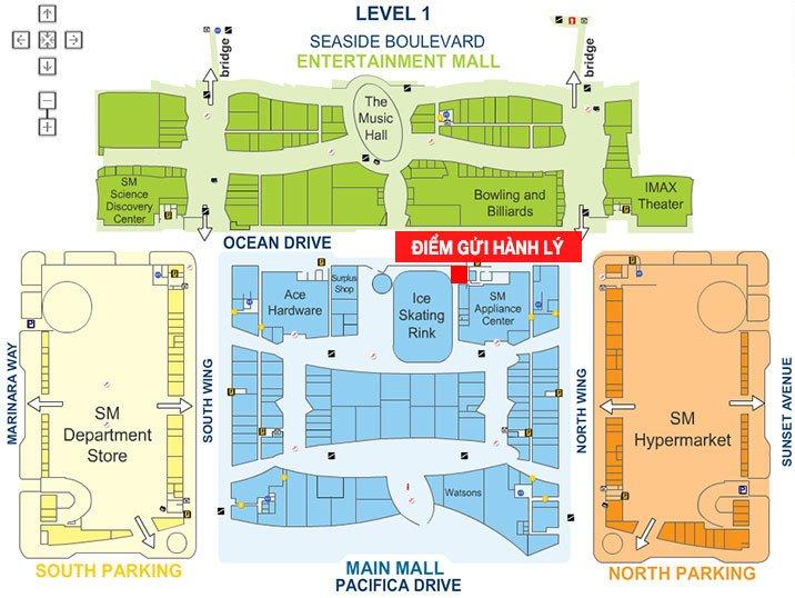 Bản đồ Mall of Asia