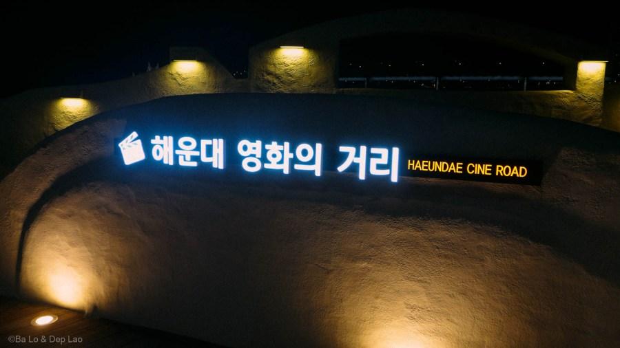 Haeundae Cine Road ở khu Haeundae